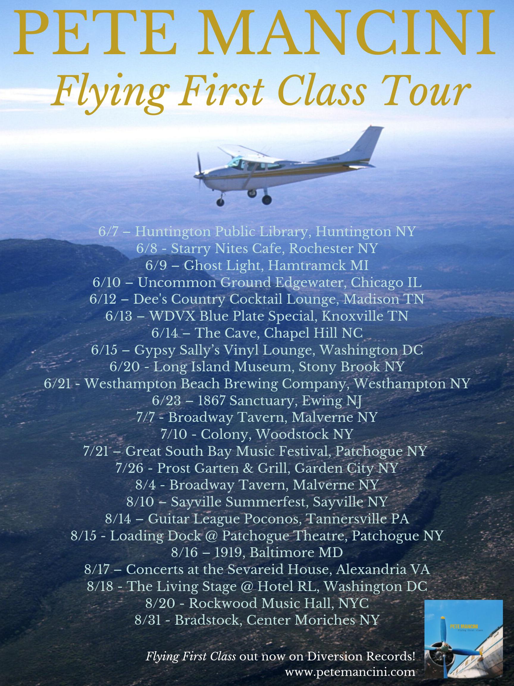 FFC tour poster